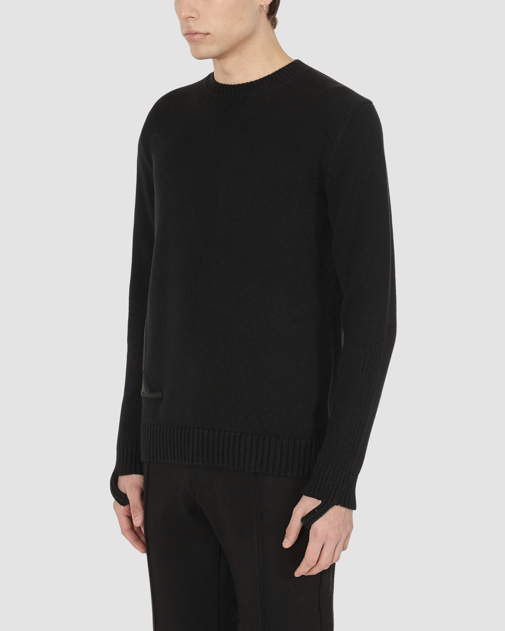 1017 ALYX 9SM | HANDCUFF SWEATER | Knitwear | BLACK, Google Shopping, Knitwear, Man, MEN, S20, S20EXSH