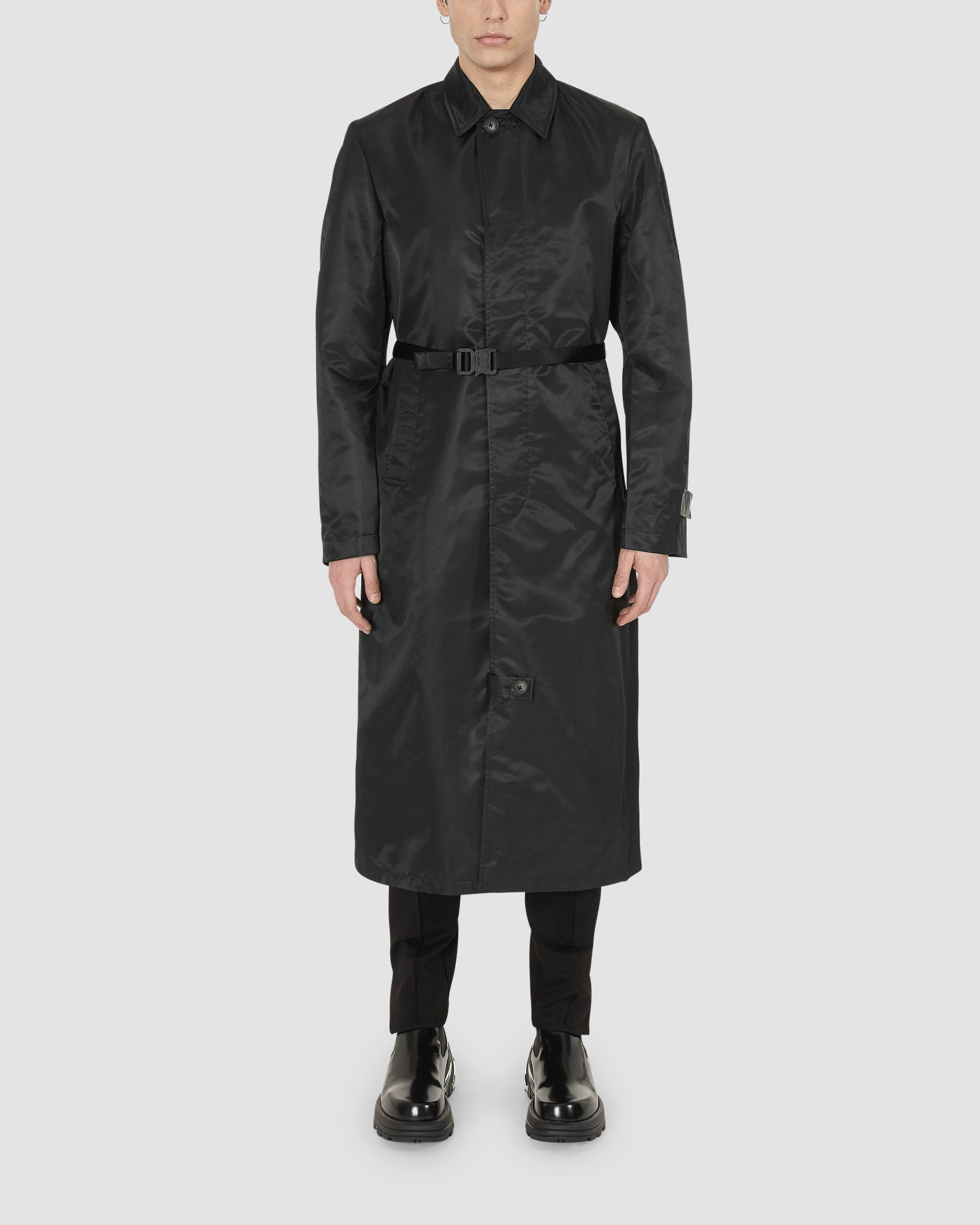 1017 ALYX 9SM | BLACK TRENCH COAT | Outerwear | BLACK, Google Shopping, Man, MEN, Outerwear, S20, S20EXSH