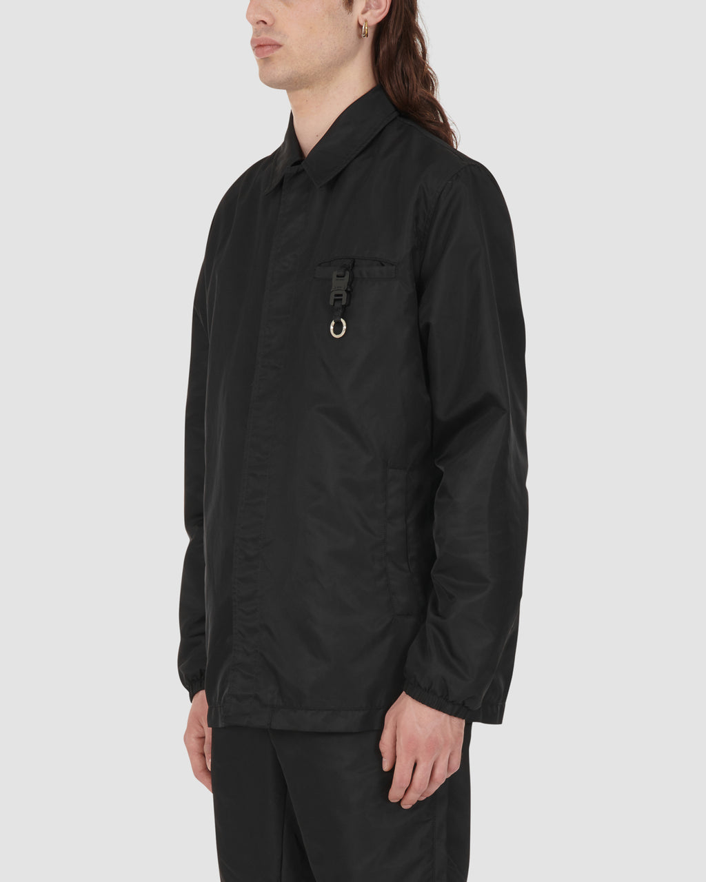 1017 ALYX 9SM | BLACK COACH JACKET | Outerwear | Black, Google Shopping, Man, MEN, Outerwear, S20, S20 Drop II