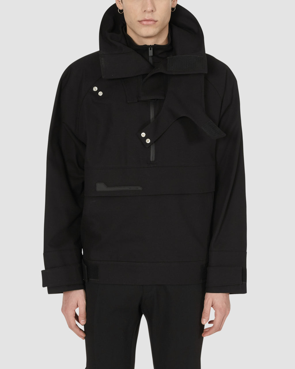 1017 ALYX 9SM | MIDNIGHT PULLOVER | Outerwear | BLACK, Google Shopping, Man, MEN, Outerwear, S20, S20EXSH