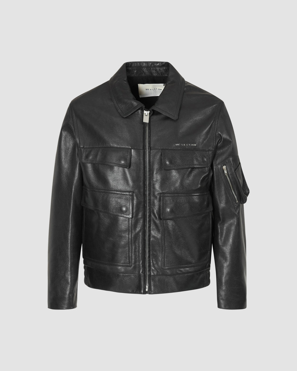 CALFSKIN LEATHER POLICE JACKET PRE-ORDER
