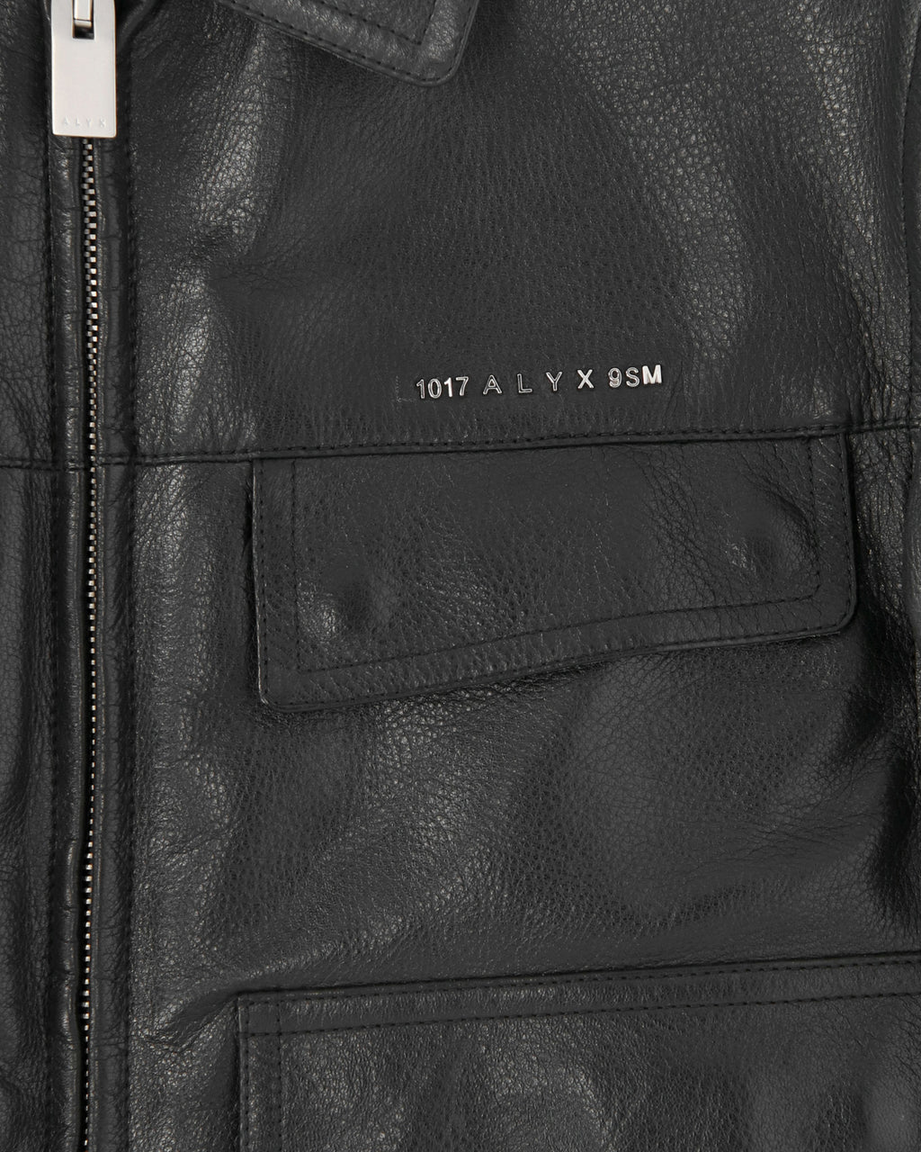 CALFSKIN LEATHER POLICE JACKET