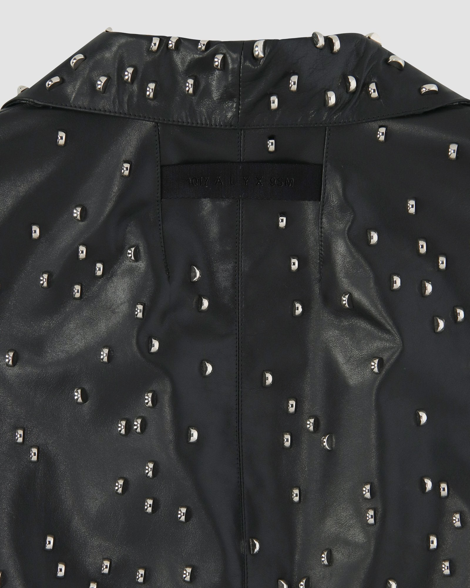 STUDDED LEATHER COAT PRE-ORDER