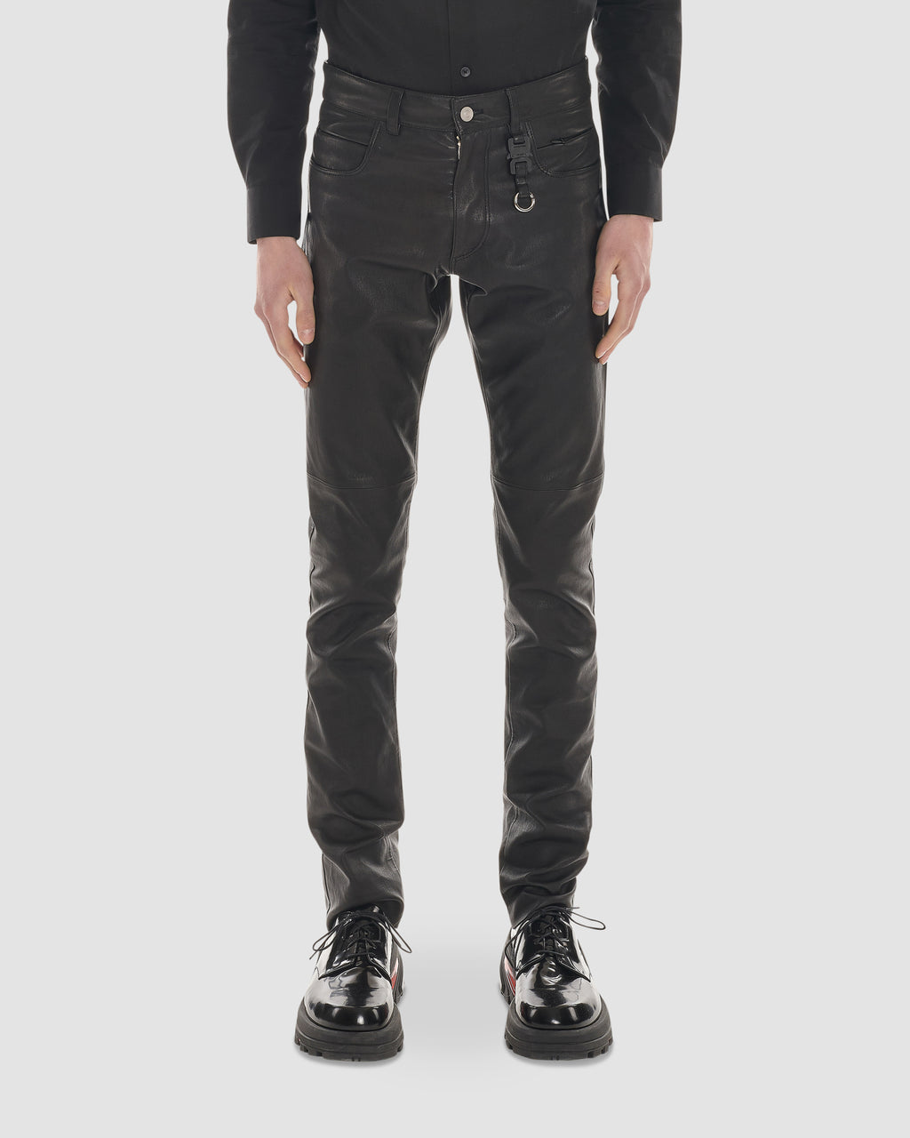 CLASSIC 5 PKT LEATHER PANT W KEYCHAIN PRE-ORDER