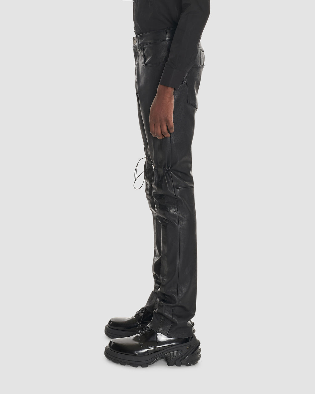 GAITER LEATHER PANT