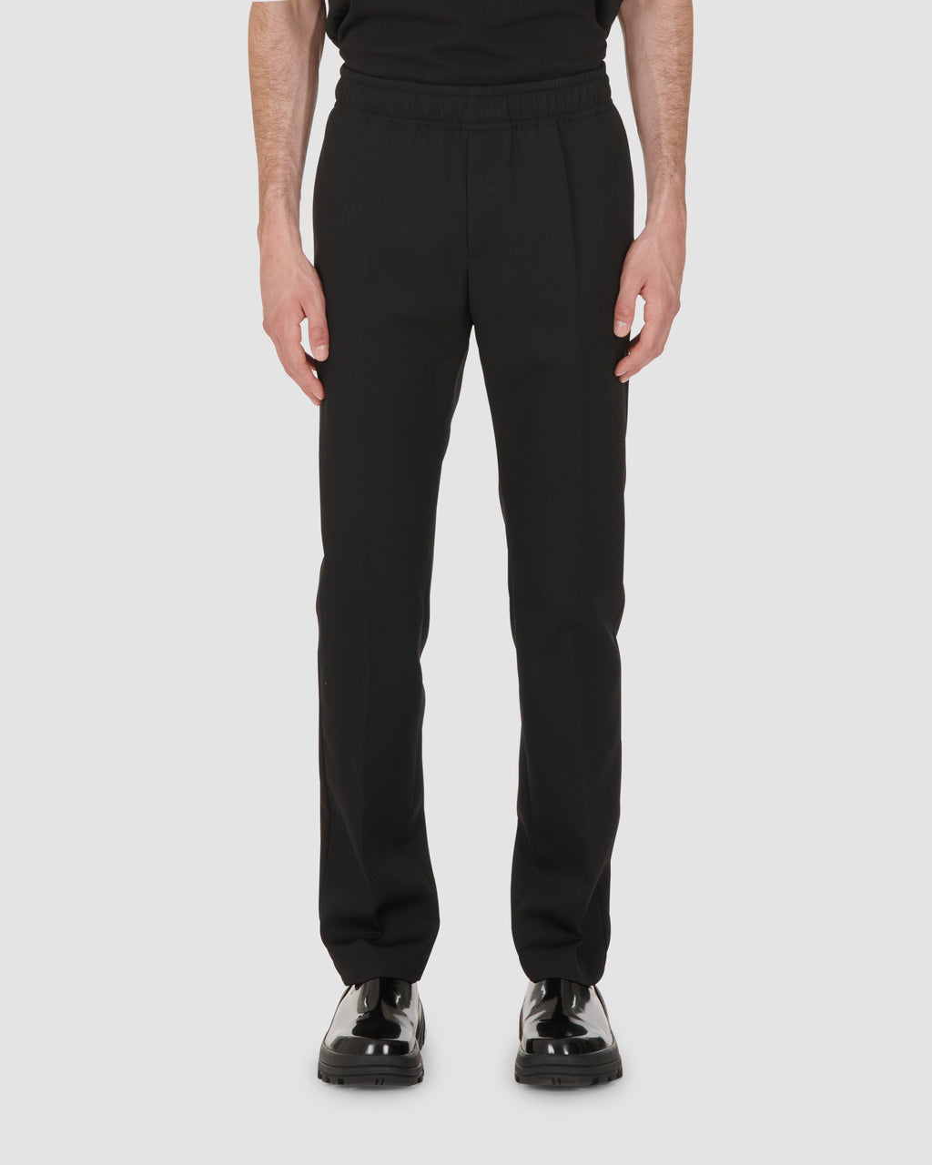 1017 ALYX 9SM | ELASTIC WAIST SUIT PANT | Pants | BLACK, Google Shopping, Man, MEN, Pants, S20, SS20, Trousers