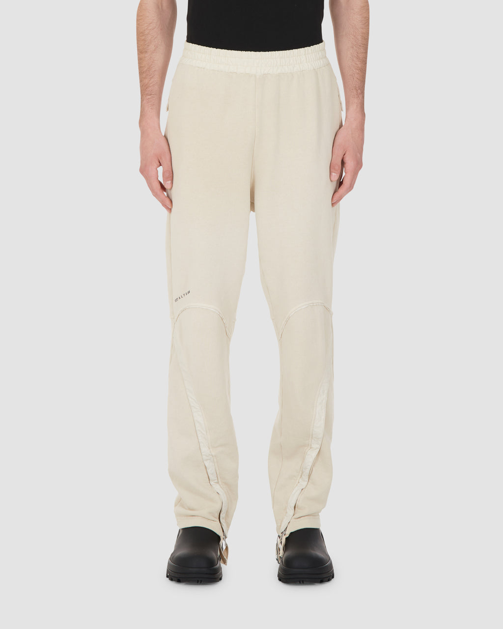 1017 ALYX 9SM | TREK ZIP SWEATPANT | Pants | Google Shopping, Man, MEN, PANTS, S20, S20 Drop II, SAND, Tan, Trousers