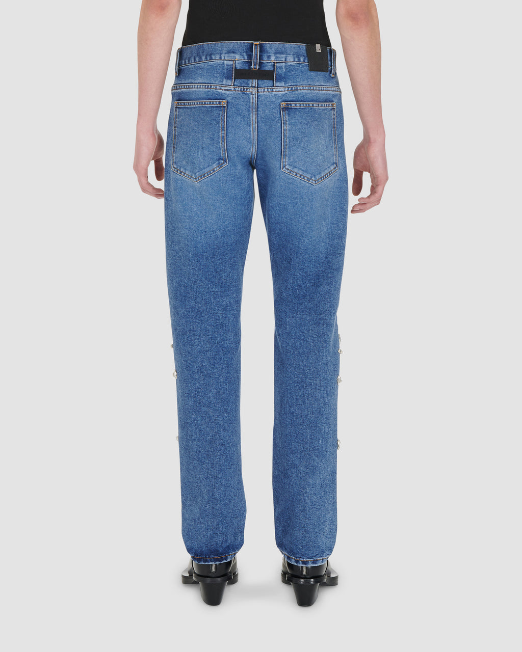 1017 ALYX 9SM | 6 POCKET MENS JEANS WITH DIAMANTI RUNWAY MADE TO ORDER | Pants | FW20 PRE-ORDER