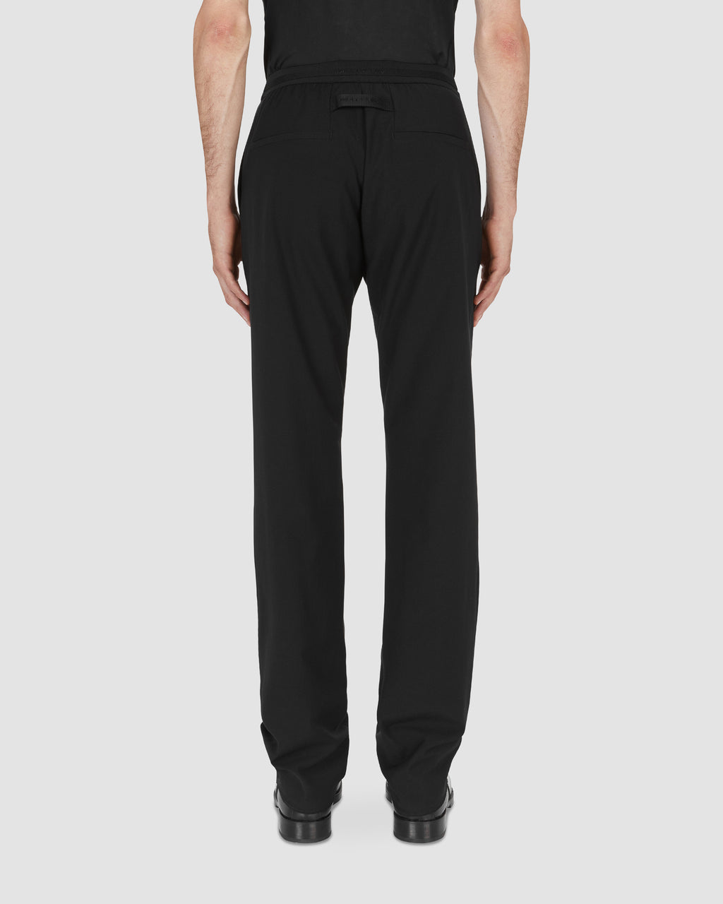 METAL BUCKLE SUIT PANT