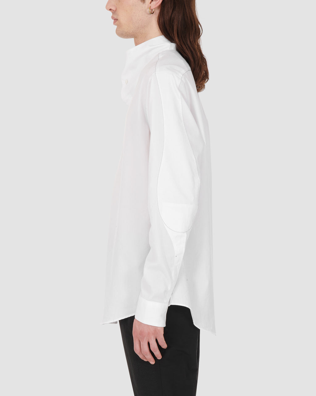 1017 ALYX 9SM | HIGH COLLAR SHIRT | Shirt | Google Shopping, Man, MEN, S20, S20 Drop II, TOPS & SHIRTS, White