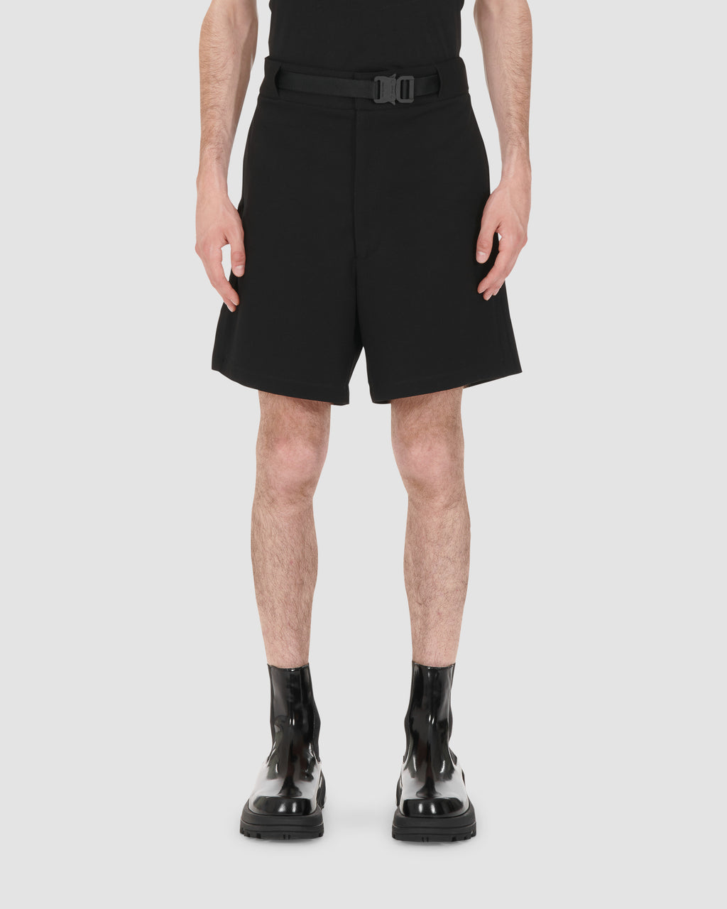 1017 ALYX 9SM | BLACK CLASSIC SHORT W BUCKLE | Pants | Black, Google Shopping, Man, MEN, S20, S20 Drop II, SHORTS, Trousers