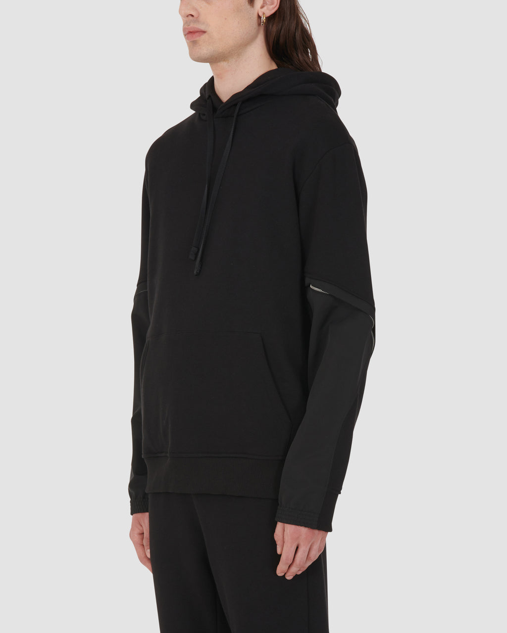 1017 ALYX 9SM | TWISTED HOODIE | Sweatshirt | BLACK, Google Shopping, Man, MEN, S20, SS20, Sweatshirts