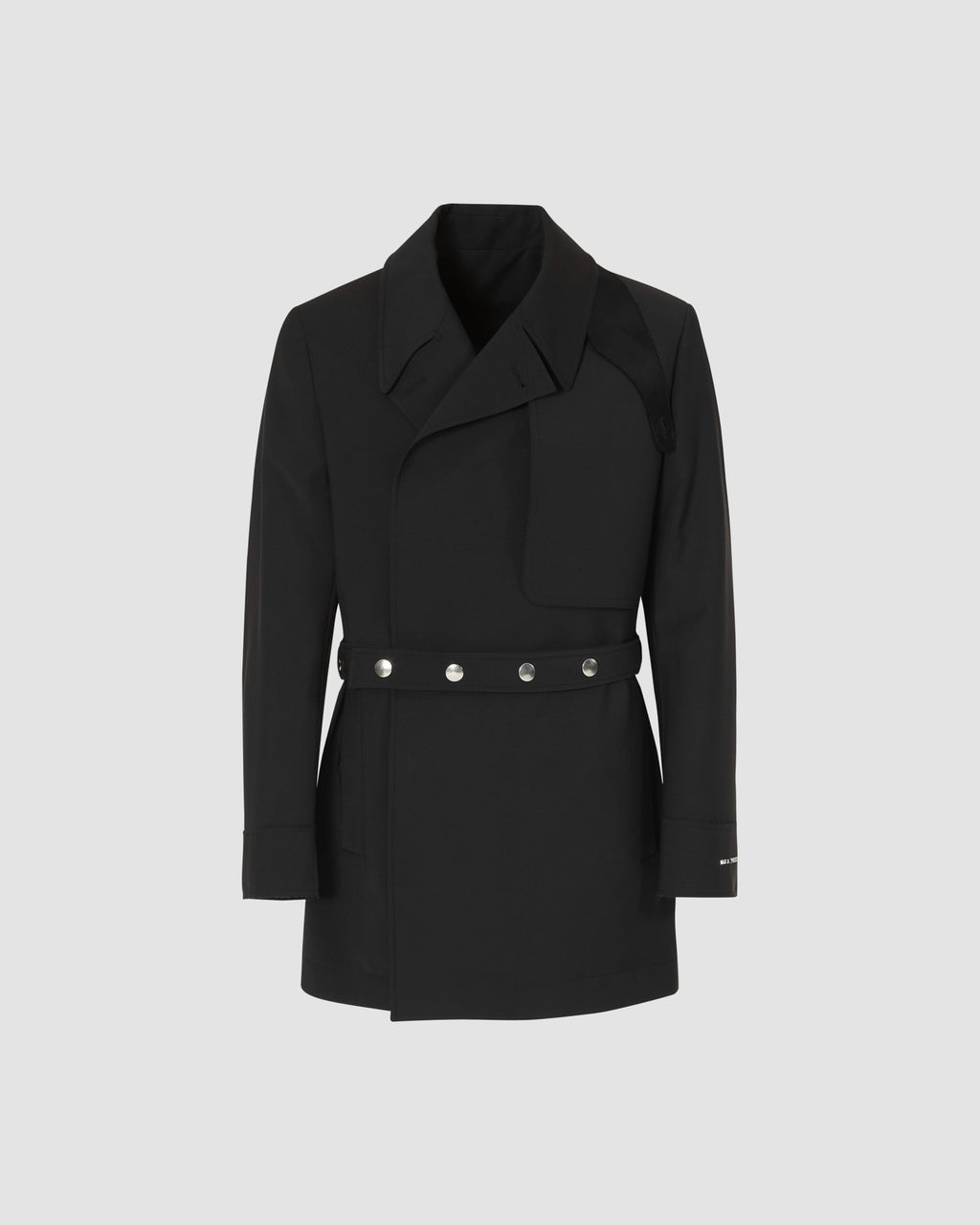 DOUBLE BREASTED TRENCH COAT BLAZER
