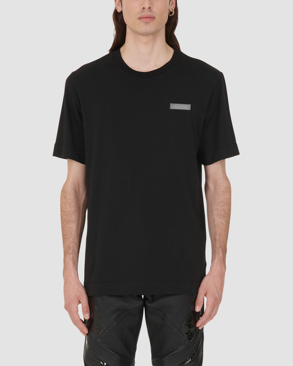 1017 ALYX 9SM | SS TEE W RUBBER PATCH AND PRINT | T-Shirt | BLACK, Google Shopping, Man, MEN, S20, SS20, T-Shirts