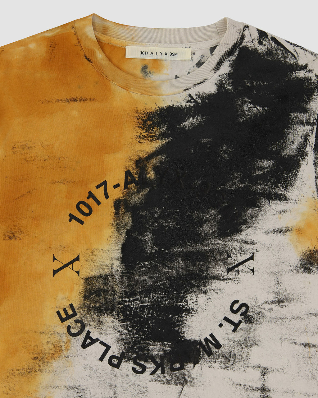 ADDRESS LOGO DYED L/S TEE