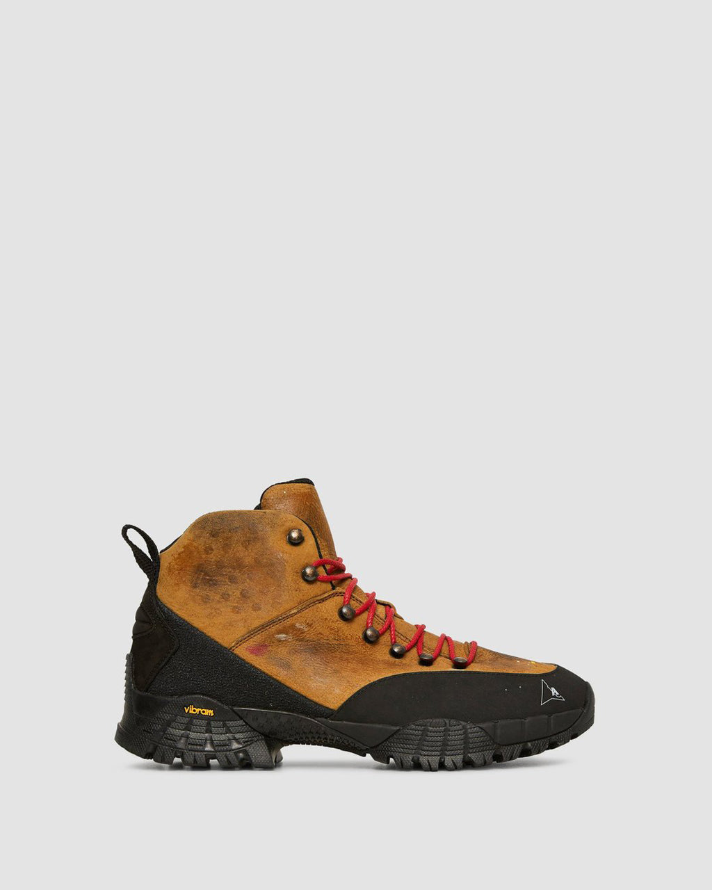 BROWN WASHED HIKING BOOT