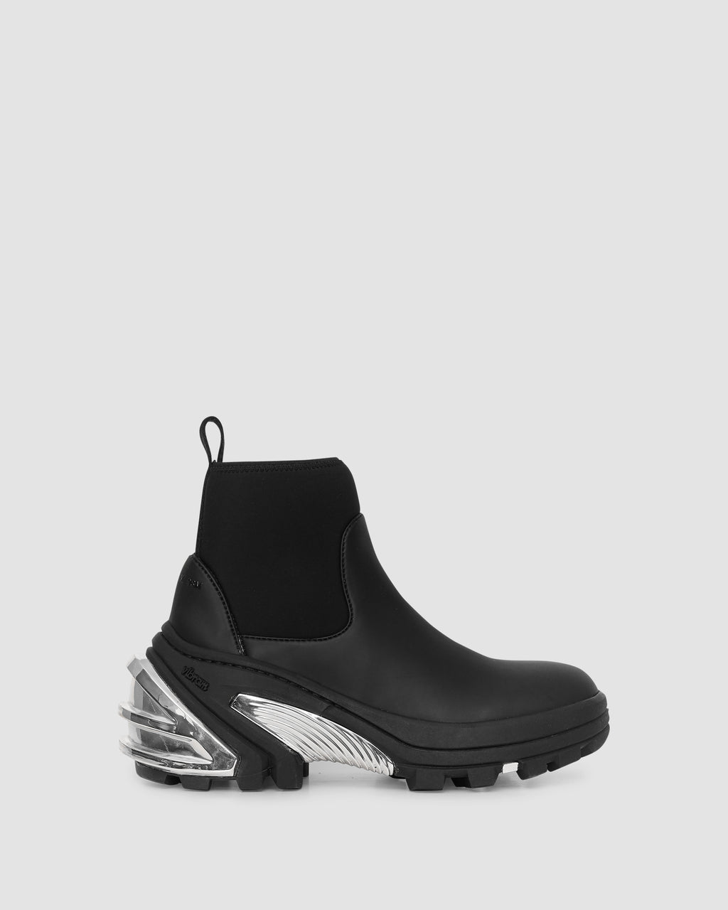 1017 ALYX 9SM | RUBBER BOOTS | Shoe | BLACK, BOOTS, Google Shopping, Man, S20, S20EXSH, Shoes, Silver, UNISEX, Woman