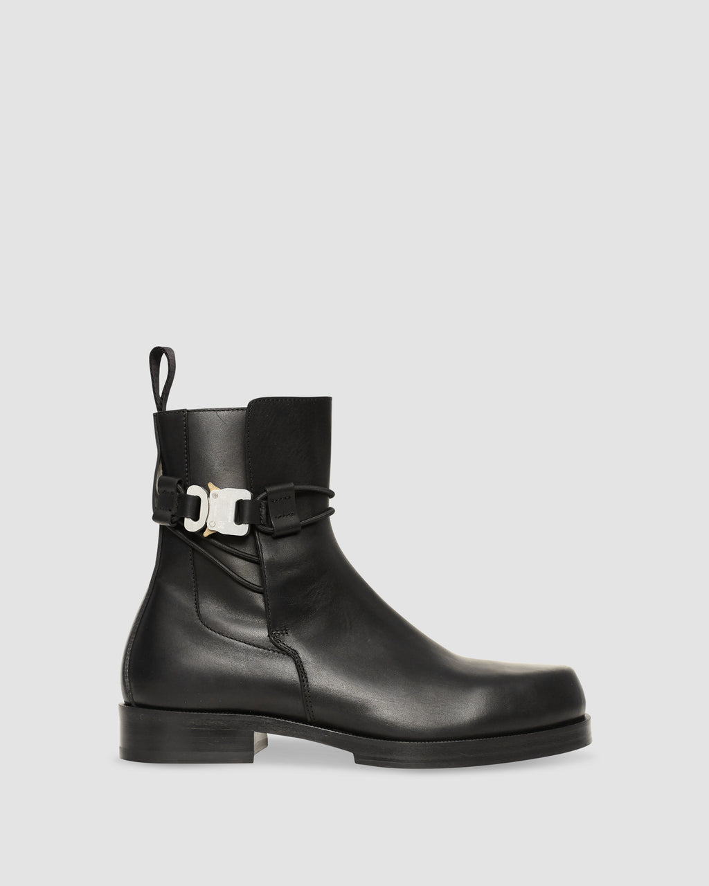 LOW BUCKLE BOOT WITH LEATHER SOLE PRE-ORDER