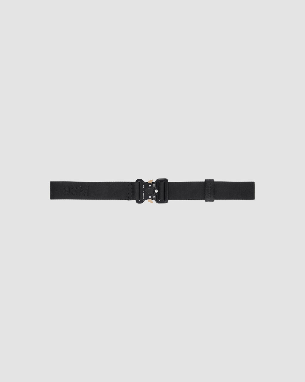 1017 ALYX 9SM | CLASSIC ROLLERCOASTER BELT W LOGO | Belt | Accessories, Belt, Black, CO, F19, Man, Woman