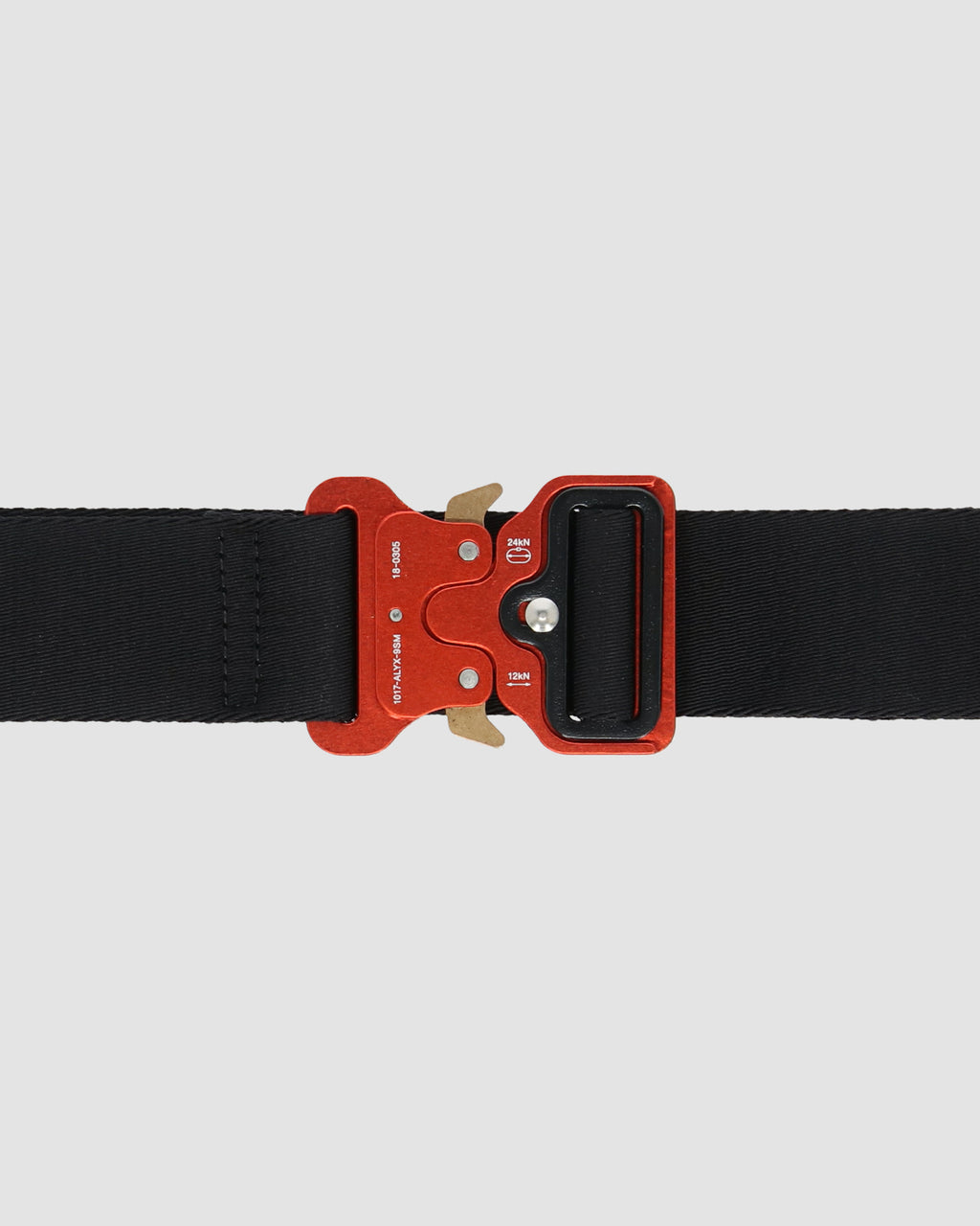 1017 ALYX 9SM | CLASSIC ROLLERCOASTER BELT W LOGO | Belt | Accessories, Belt, BELTS, Black, BLACK/RED, F19, Google Shopping, Man, Red, UNISEX, Woman