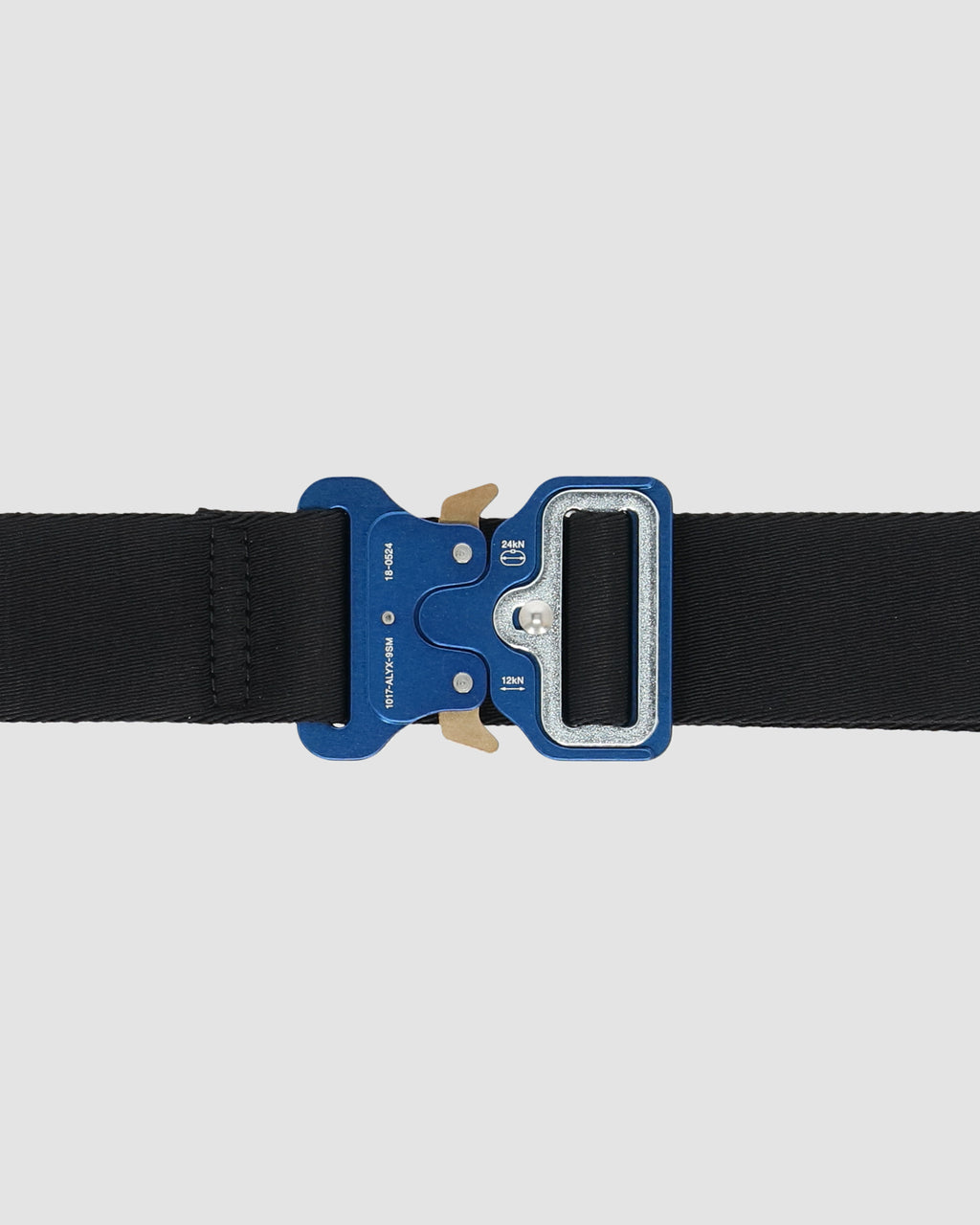 1017 ALYX 9SM | CLASSIC ROLLERCOASTER BELT W LOGO | Belt | Accessories, Belt, BELTS, BLACK/BLUE, F19, Google Shopping, Man, UNISEX, Woman
