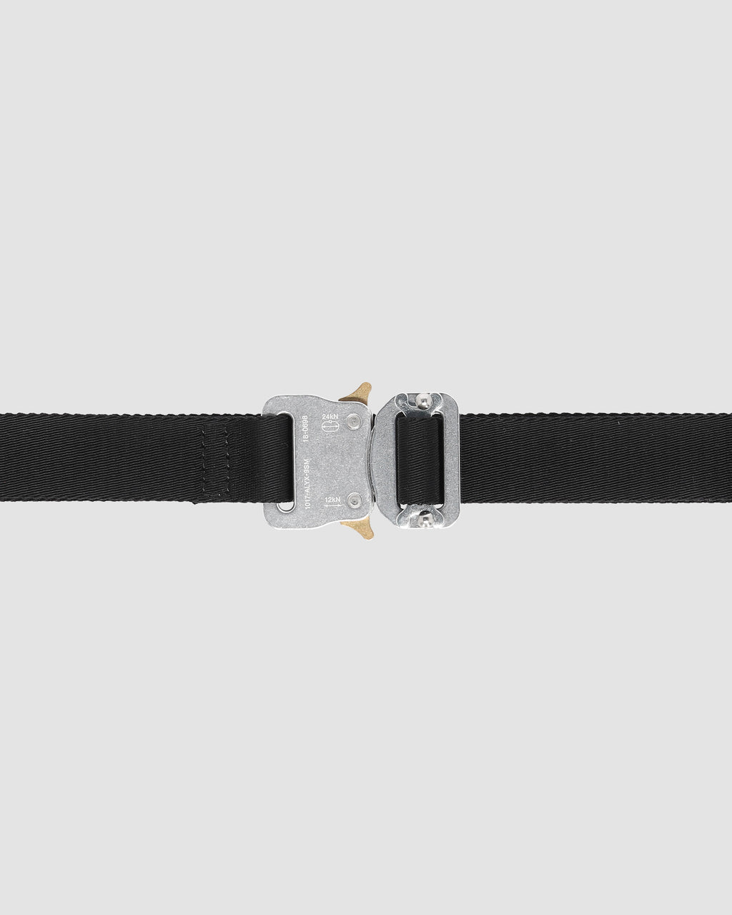 1017 ALYX 9SM | MEDIUM ROLLERCOASTER BELT | Belt | Accessories, Belt, Black, CO, F19, Man, Silver, Woman