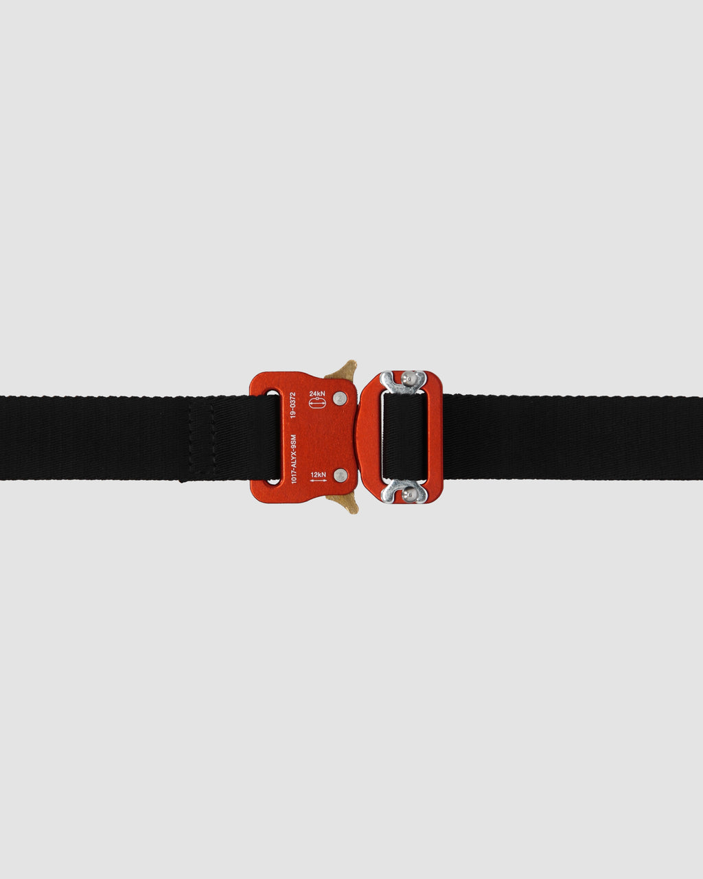 1017 ALYX 9SM | MEDIUM ROLLERCOASTER BELT | Belt | Accessories, Belt, Black, F19, Man, Red, Woman