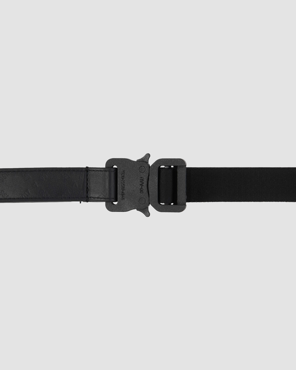 1017 ALYX 9SM | MONOGRAM MEDIUM ROLLERCOASTER BELT | Belt | Accessories, Belt, Black, F19, Man, Woman