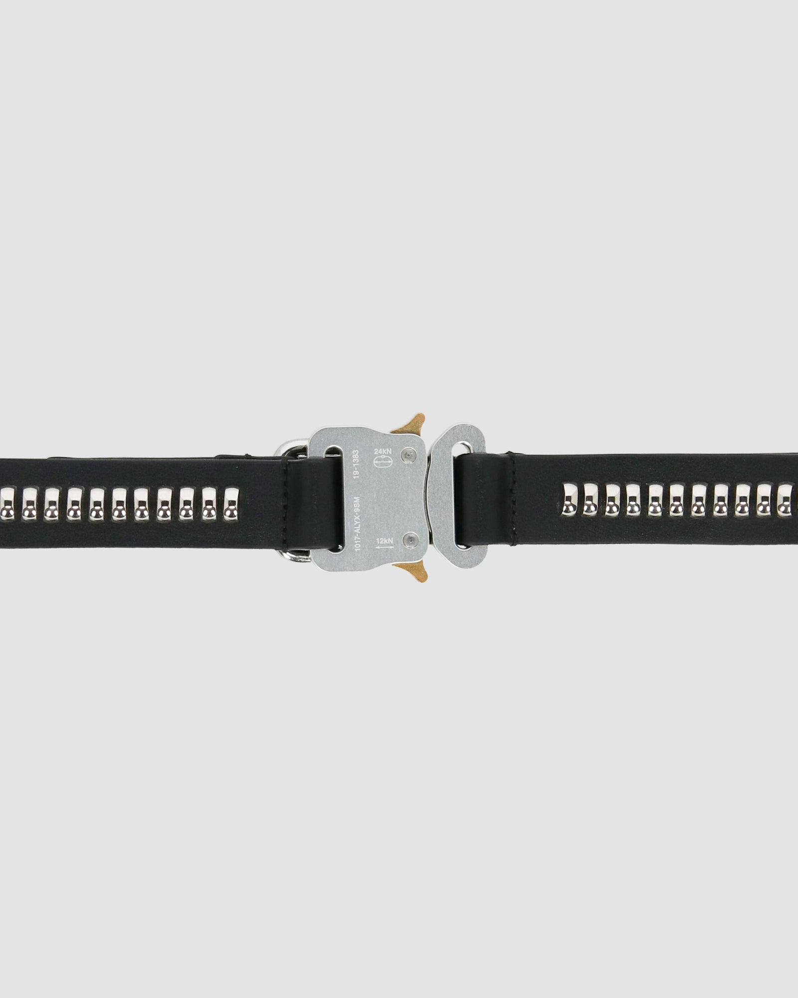STUDDED MEDIUM BUCKLE BELT