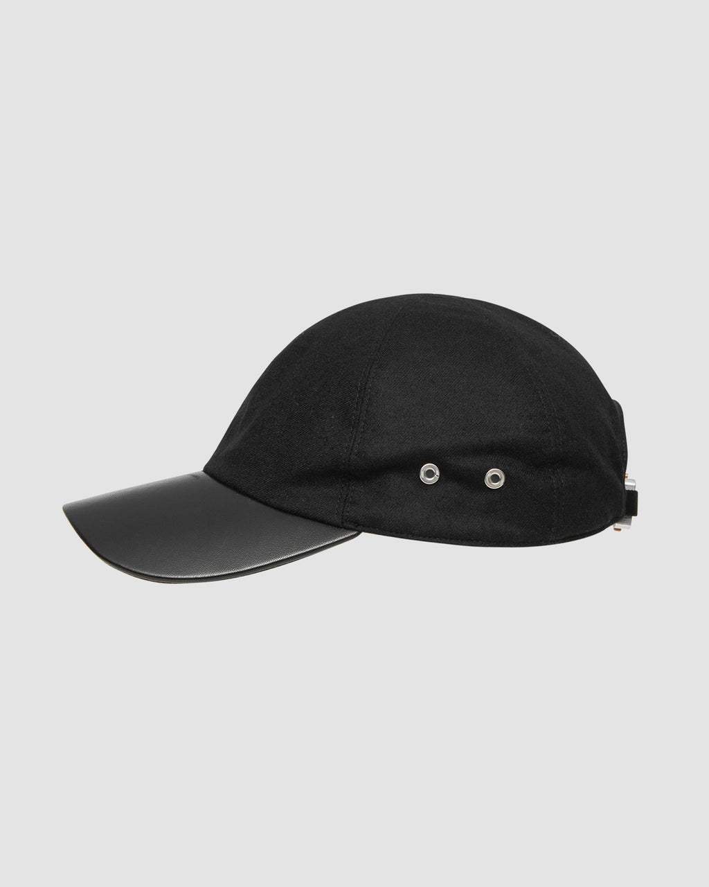 BASEBALL CAP W METAL BUCKLE