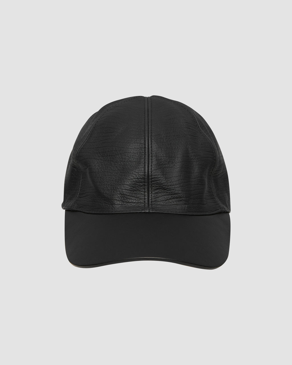 CLASSIC HAT IN LEATHER W BUCKLE