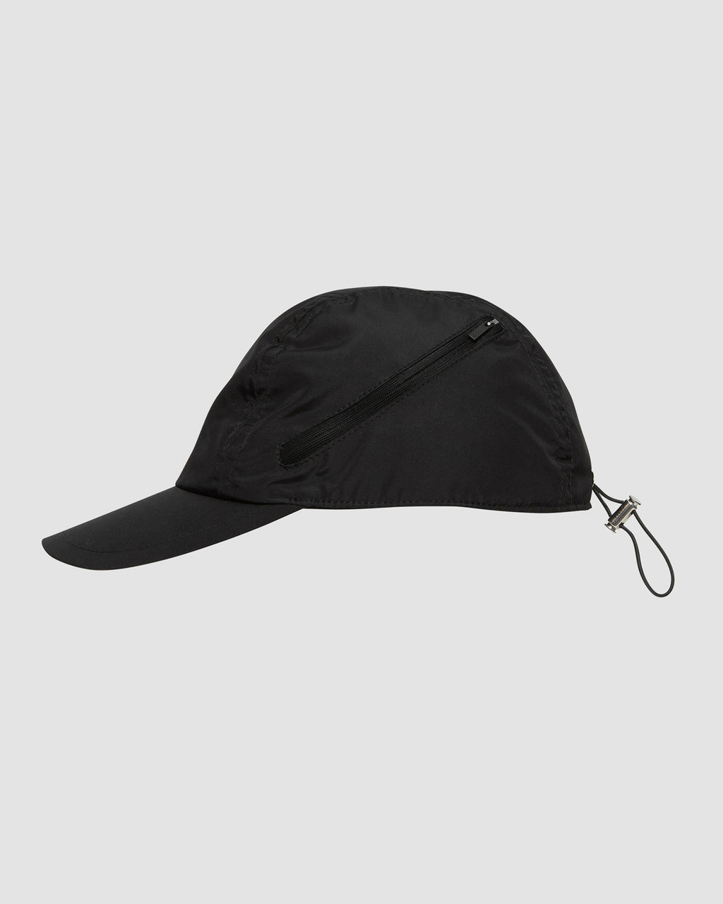 1017 ALYX 9SM | SOFT CLASSIC HAT WITH CURVED ZIP | Hat | BLACK, Google Shopping, Hat, HATS, Man, S20, S20 Drop II, UNISEX, Woman