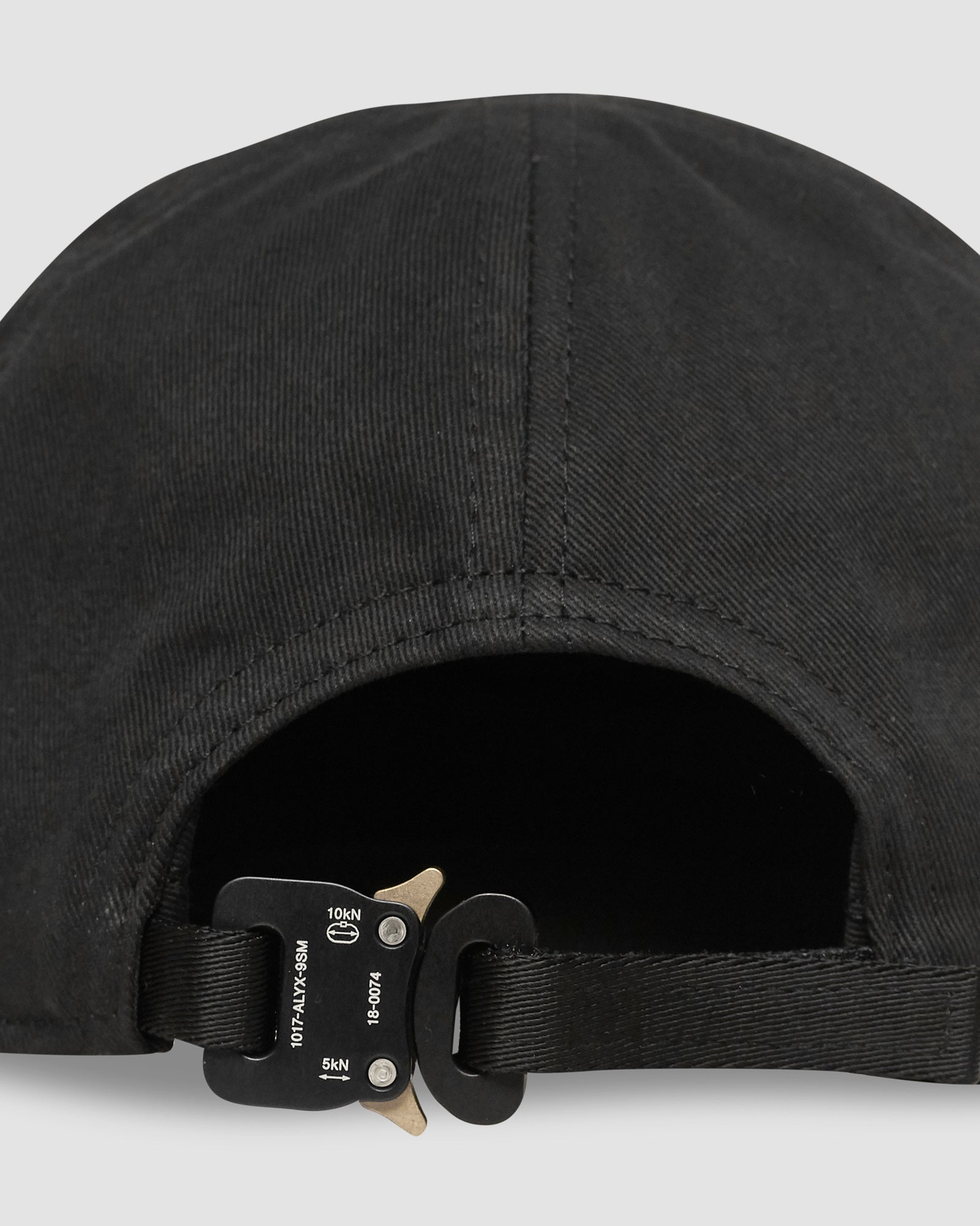 LOGO HAT W/ METAL BUCKLE