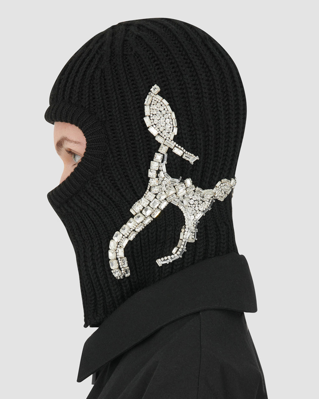 BALACLAVA WITH DIAMANTI EXCLUSIVE MADE TO ORDER
