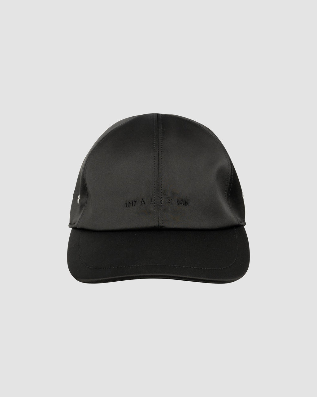 SATIN LOGO HAT W/ BUCKLE