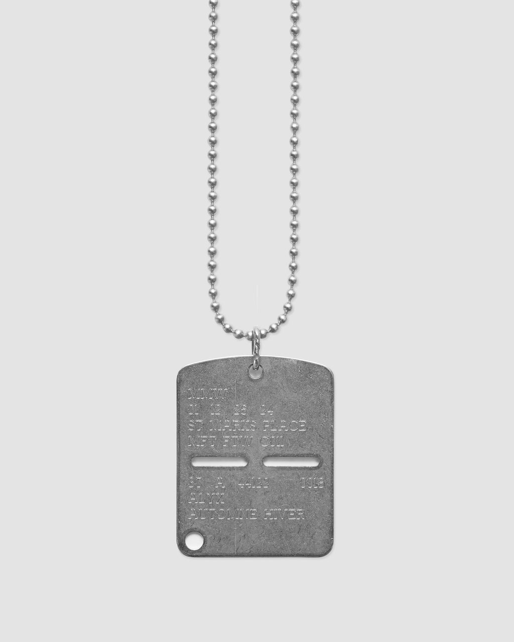MILITARY DOGTAG