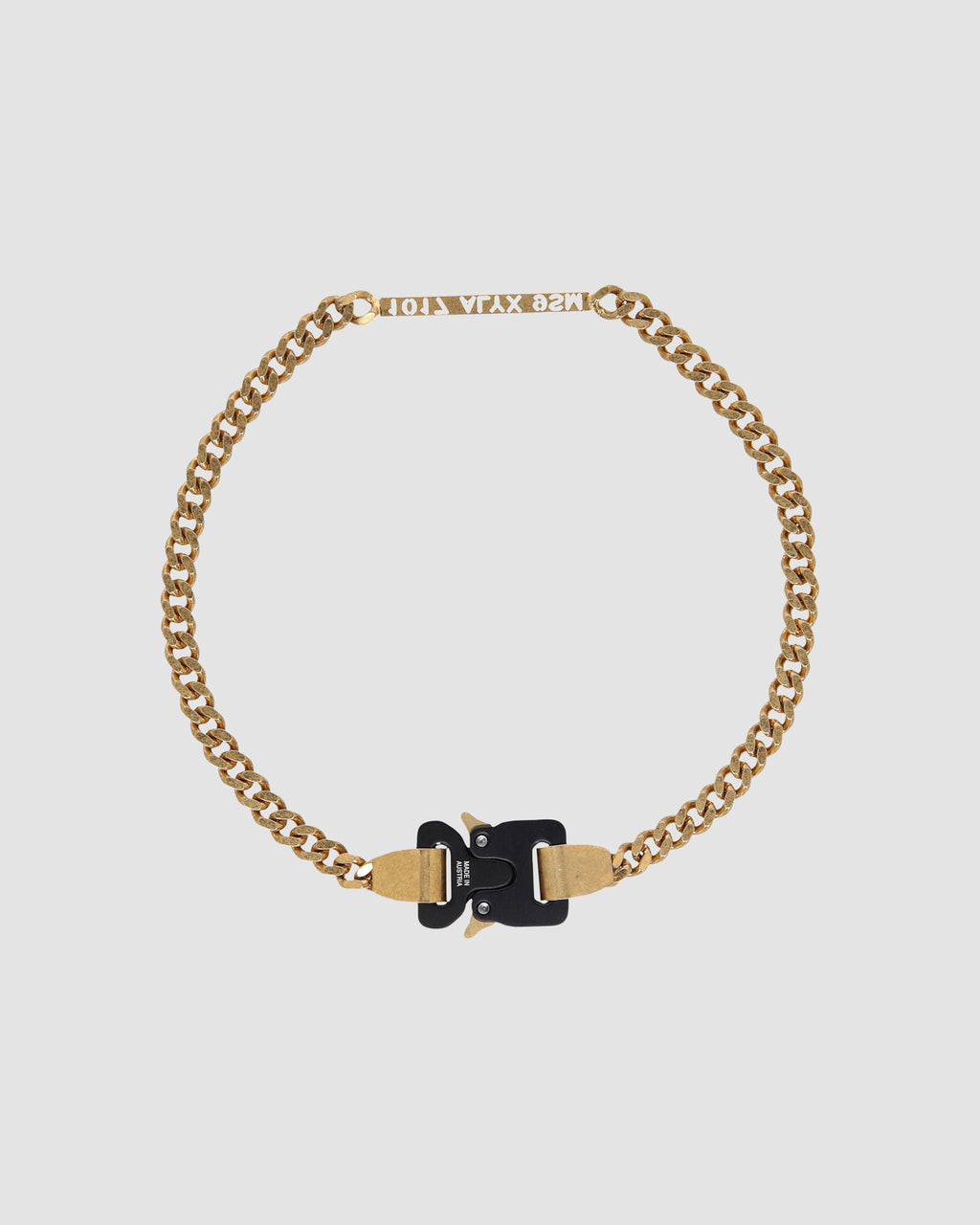 1017 ALYX 9SM | 1017 ALYX 9SM BUCKLE NECKLACE | Jewellery | Accessories, GOLD, Google Shopping, Jewellery, jewelry, Man, S20, S20 Drop II, UNISEX, Woman