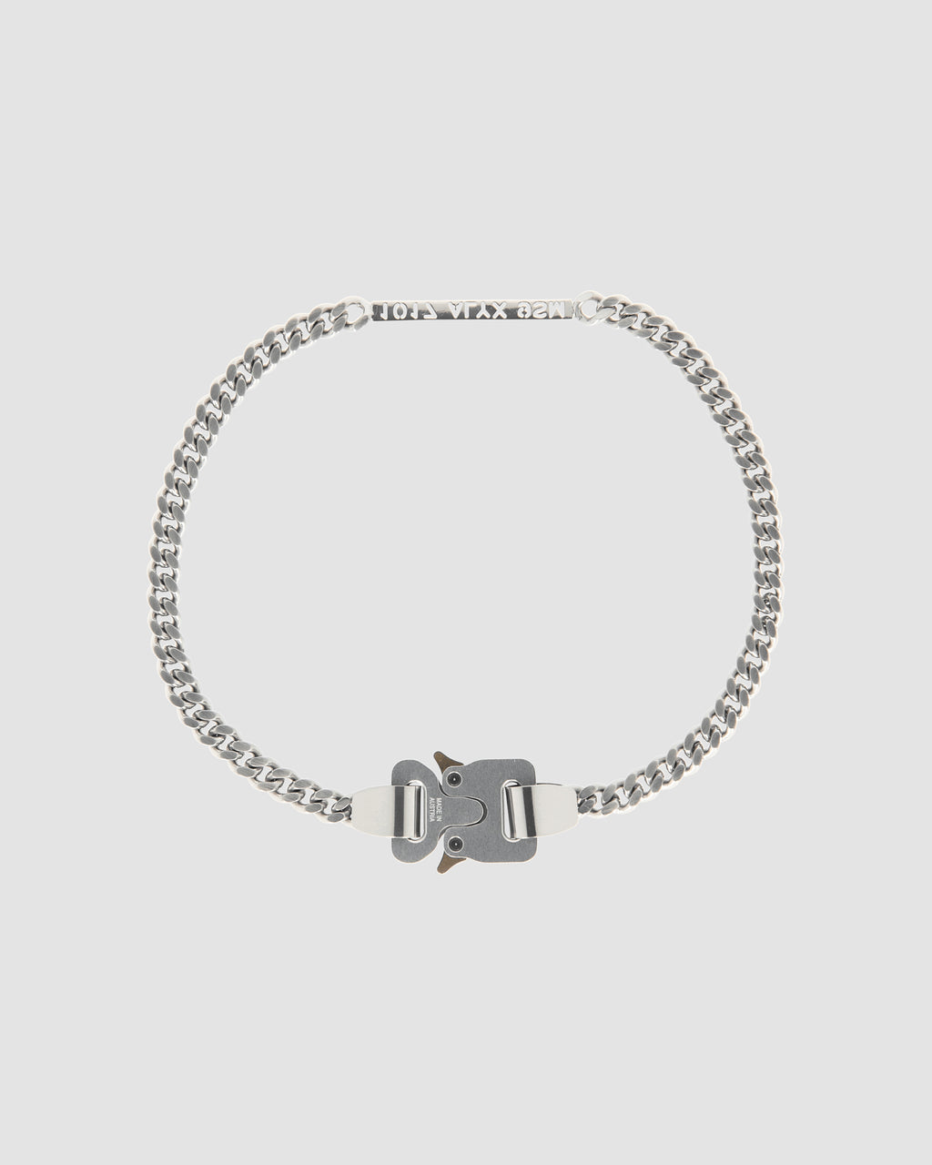1017 ALYX 9SM | 1017 ALYX 9SM BUCKLE NECKLACE | Jewellery | Accessories, Google Shopping, Jewellery, jewelry, Man, S20, S20EXSH, SILVER, UNISEX, Woman