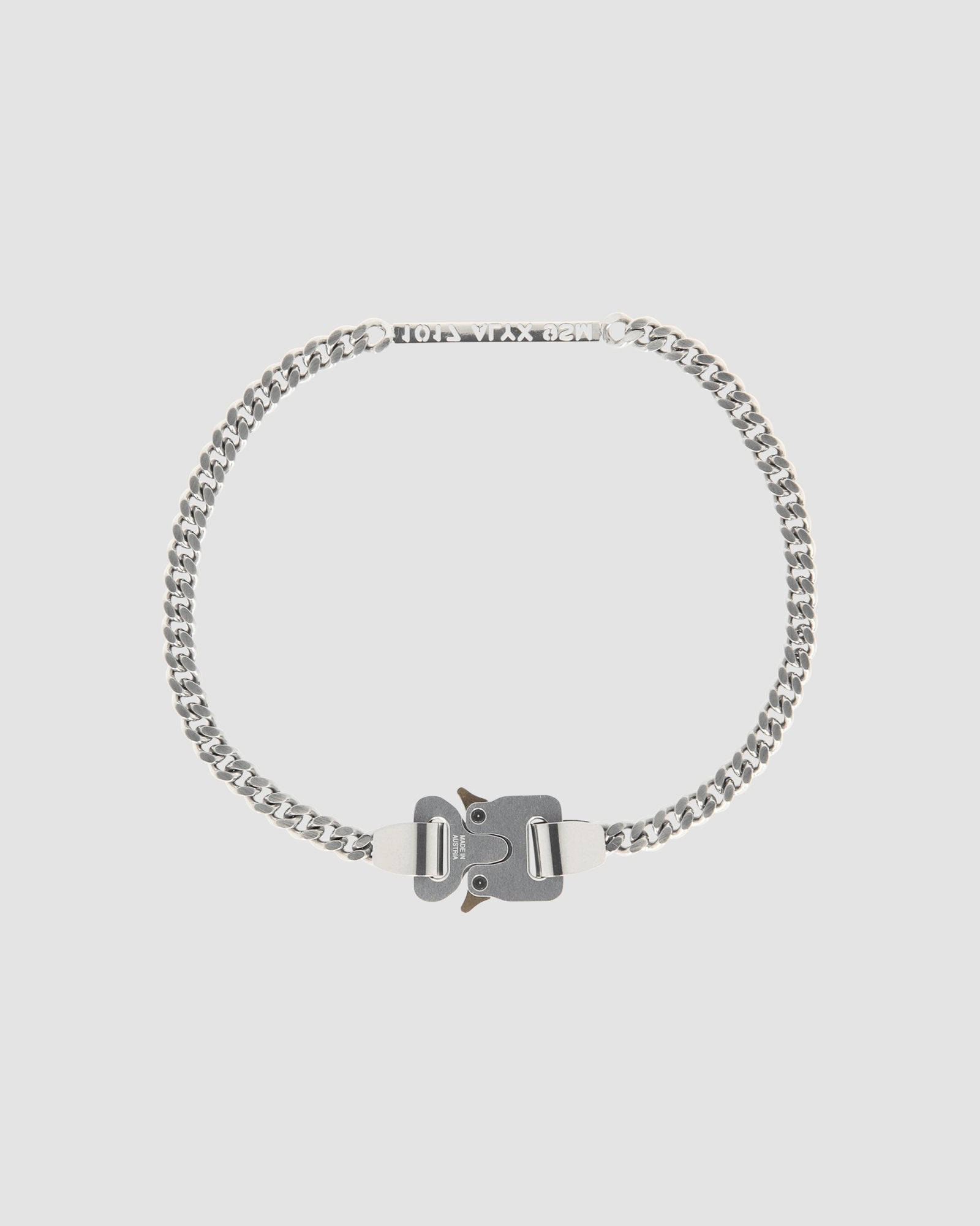 1017 ALYX 9SM BUCKLE NECKLACE