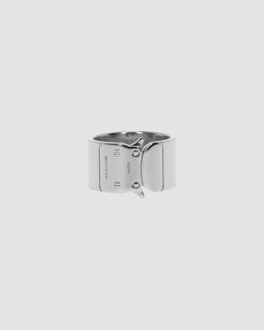 1017 ALYX 9SM | BUCKLE RING | Jewellery | Accessories, Google Shopping, JEWELLERY, jewelry, Man, S20, S20 Drop II, SILVER, UNISEX, Woman