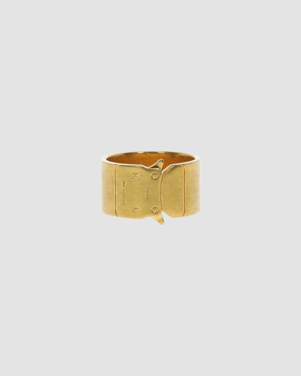1017 ALYX 9SM | BUCKLE RING | Jewellery | Accessories, GOLD, Google Shopping, Jewellery, jewelry, Man, S20, S20 Drop II, UNISEX, Woman