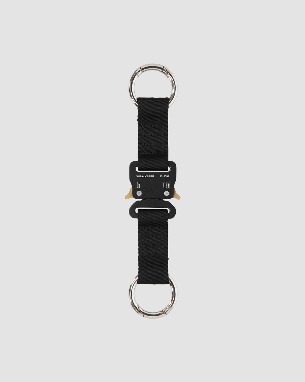 1017 ALYX 9SM | CLASSIC KEYRING | Keychain | Accessories, BLACK, Google Shopping, Keychain, KEYCHAINS, Man, S20, SS20, UNISEX, Woman