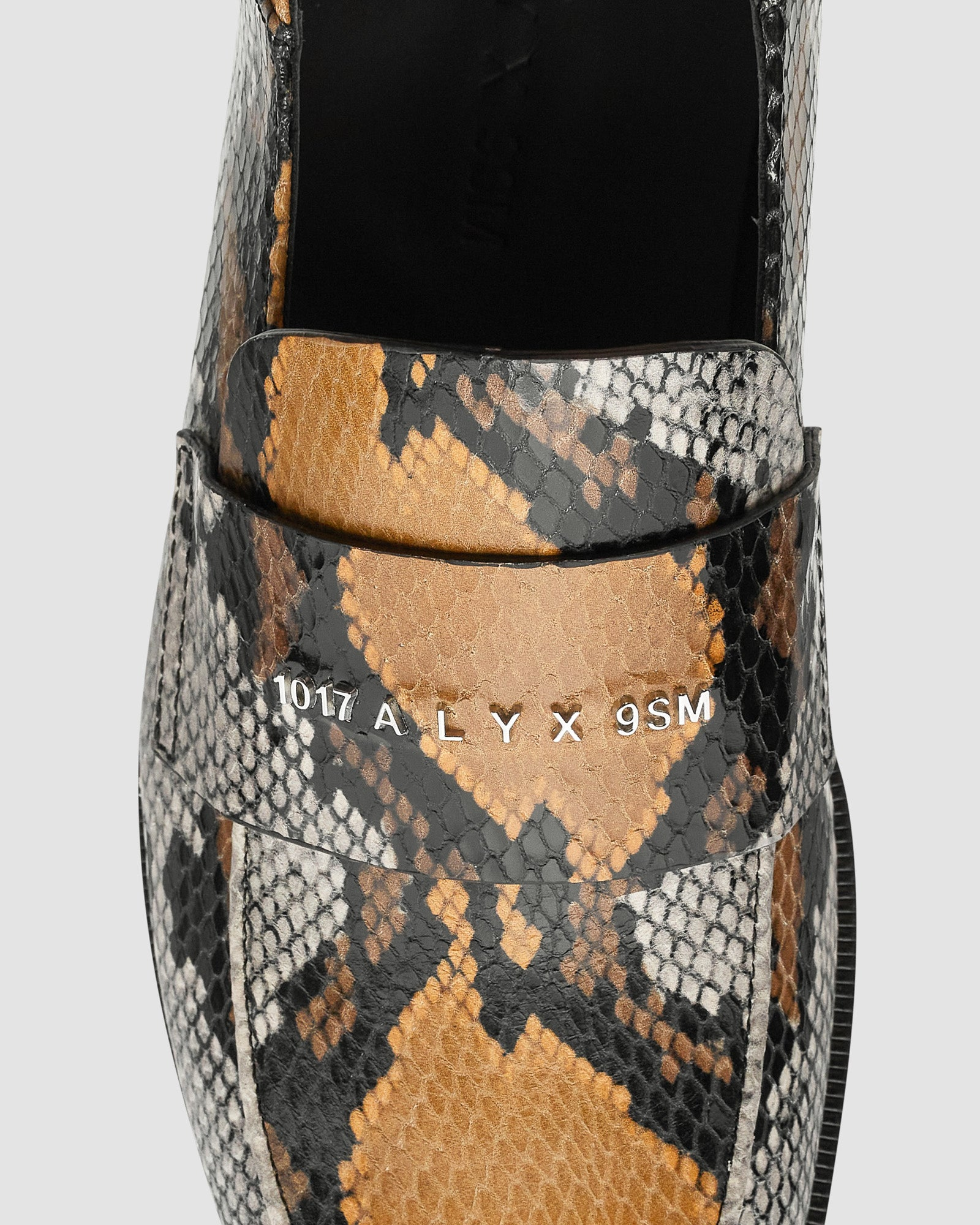 ANIMAL PRINT SLIP ON LOAFER