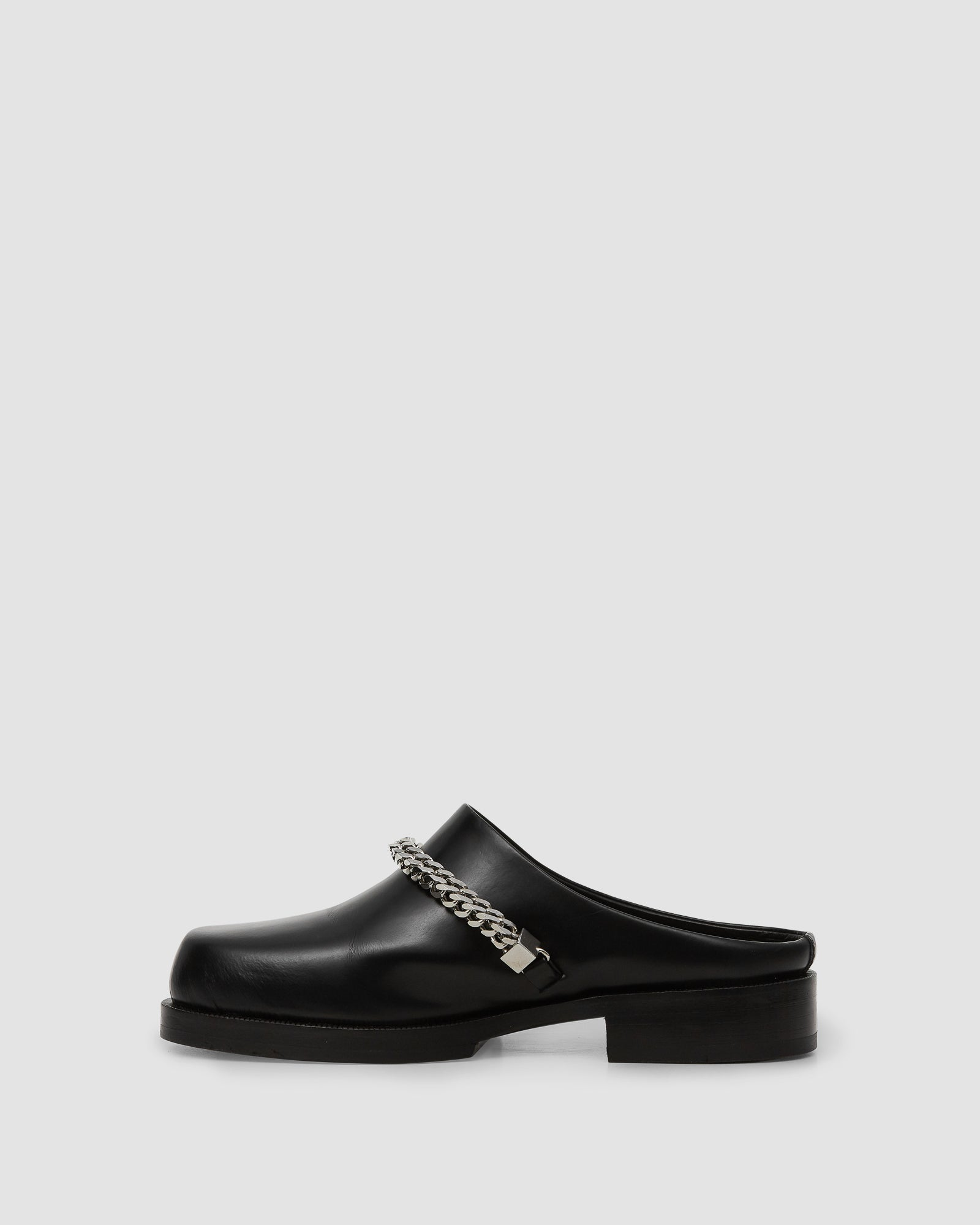 1017 ALYX 9SM | FORMAL CLOG W CHAIN | Shoe | Black, Google Shopping, Man, MULES, S20, S20 Drop II, Shoes, UNISEX, Woman