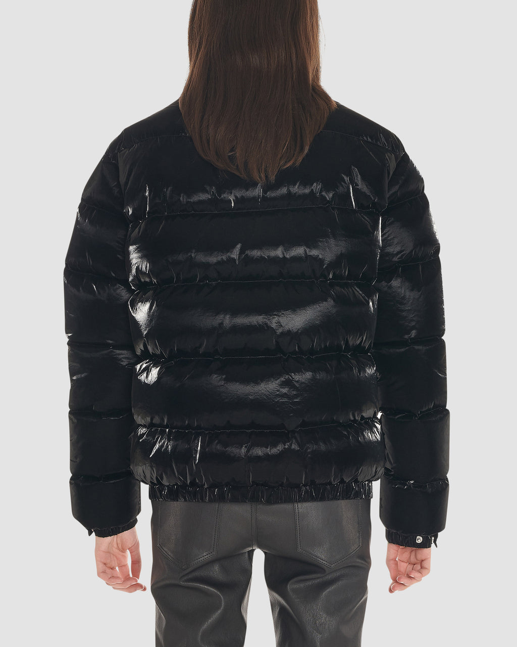 PUFFER COAT W NYLON BUCKLE