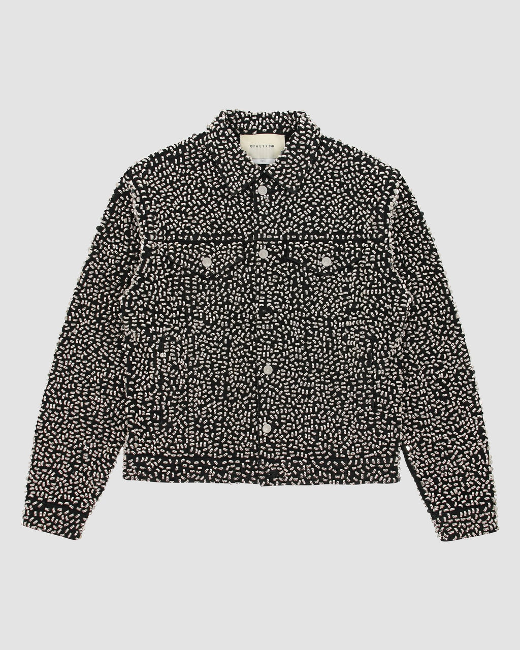 UNISEX STUDDED DENIM JACKET PRE-ORDER
