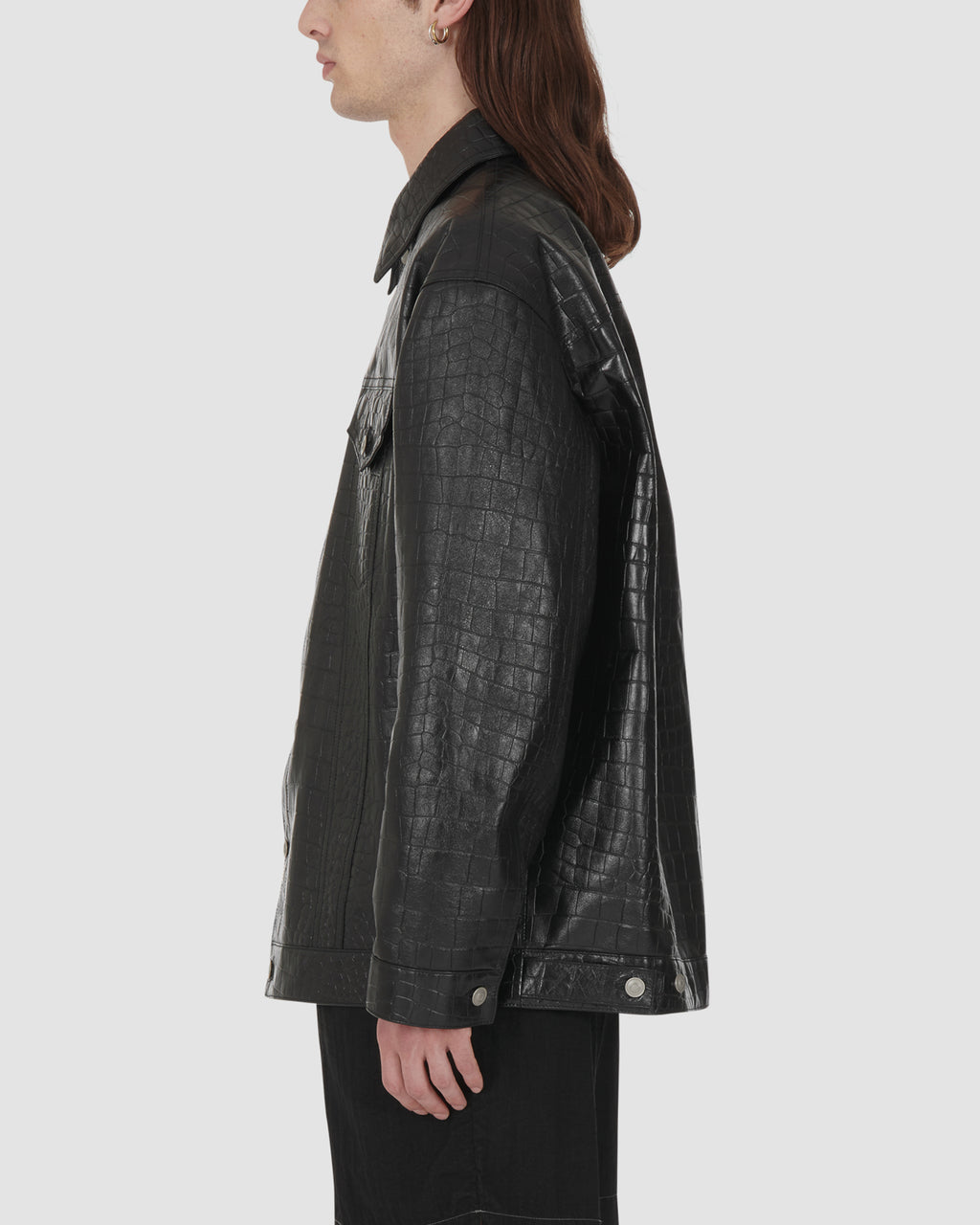 1017 ALYX 9SM | LEATHER JACKET | Outerwear | Black, Google Shopping, Man, Outerwear, S20, S20 Drop II, UNISEX, Woman
