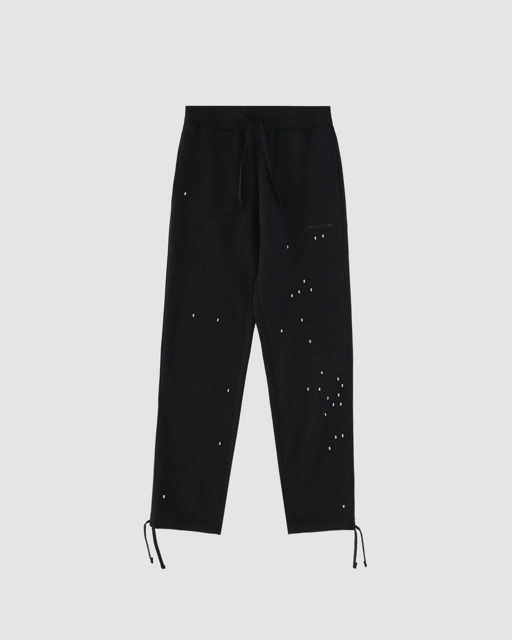 STUDDED DOUBLE LOGO JOGGER