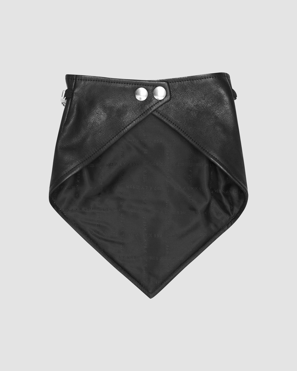 1017 ALYX 9SM | LEATHER BANDANA WITH CHAIN MADE TO ORDER | Scarf | F20, FW20 PRE-ORDER