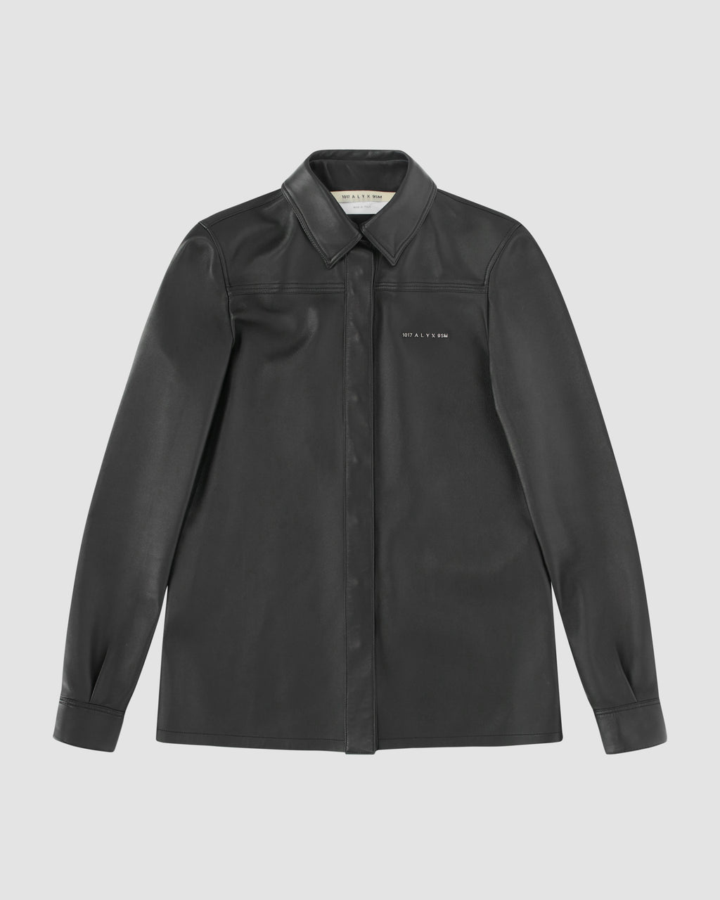 DRAKE LEATHER SHIRT